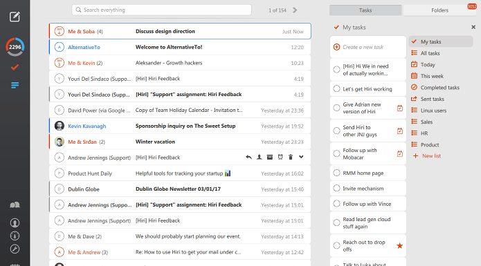 Como instalar o cliente de email Exchange e Office 365 Hiri no Linux