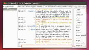 Como instalar o cliente IRC HexChat no Linux via Flatpak