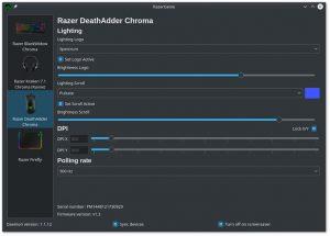 Como instalar o configurador RazerGenie no Linux via Flatpak