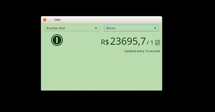 How to find out the value of crypto coins in Linux with the Coin app