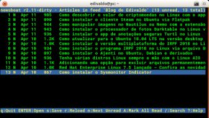 Feed no terminal? Veja como instalar o Newsboat via Snap