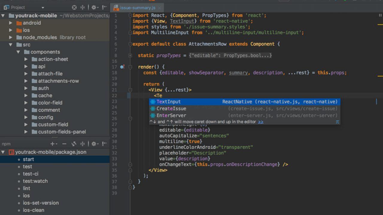 IDE JavaScript WebStorm no Linux - veja como instalar