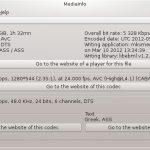 Instale o MediaInfo no Linux e veja dados sobre mídias
