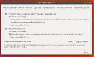 Atualização do microcódigo da Intel para Spectre está de volta ao Ubuntu