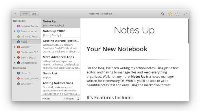 Como instalar o gerenciador de notas Notes-Up no Linux via Flatplak