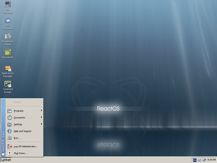 ReactOS 0.4.8 lançado com suporte para apps do Windows 10 e 8