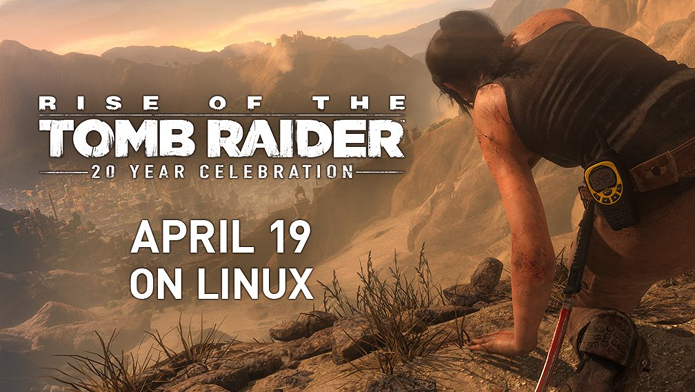 Rise of the Tomb Raider: 20 Year Celebration chega ao Linux dia 19 de abril