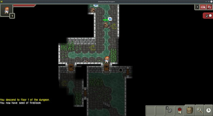 Como instalar o jogo Shattered Pixel Dungeon no Linux via Snap