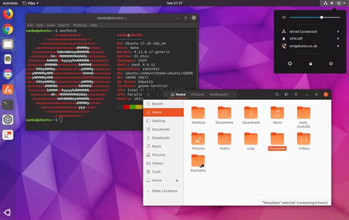 Como instalar o novo tema do Ubuntu 18.04 LTS via Snap