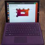 Ubuntu 18.04 LTS no Microsoft Surface Pro 3 2-in-1
