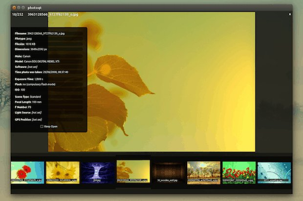 Como instalar o visualizador de imagens PhotoQt no Linux