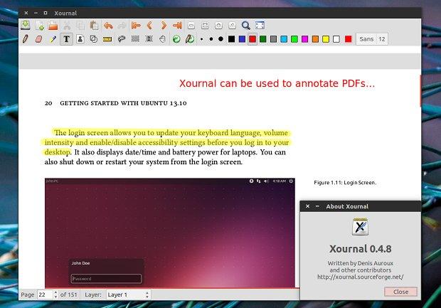 Conheça e instale o app de anotações Xournal no Linux