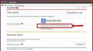 Como instalar o cliente AnyDesk no Ubuntu, Debian e derivados