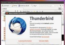 Como instalar o cliente de e-mail Thunderbird no Linux via Flatpak