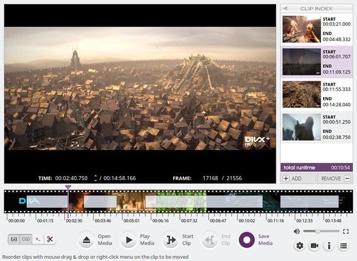 Como instalar o editor de vídeo VidCutter no Linux via Flatpak