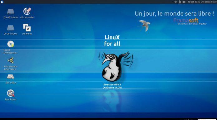 Emmabuntus Debian Edition 2 1.02 lançado - Confira as novidades e baixe