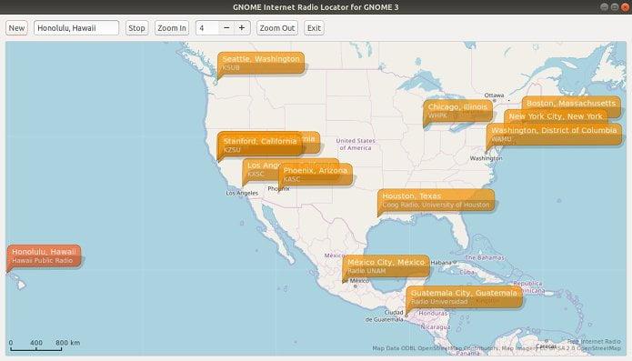 GNOME 3.30 terá app para localizar e reproduzir rádios online via Internet