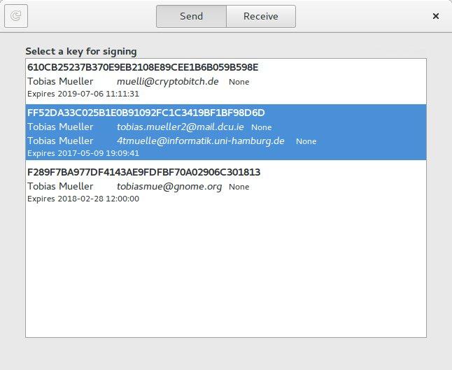 Como instalar o GNOME-Keysign no Linux via Flatpak