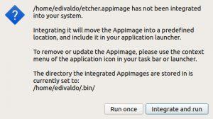 Como instalar o integrador AppImageLauncher no Linux