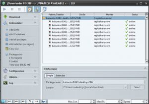Instalando o gerenciador de downloads JDownloader no Linux