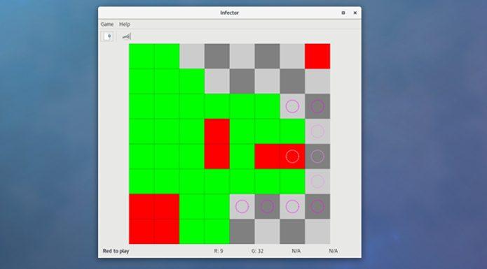 Como instalar o jogo de tabuleiro Infector no Linux via Flatpak