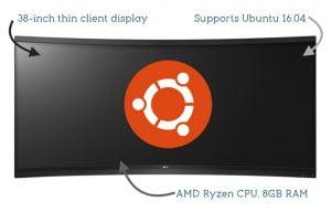 LG lança monitor de 38 polegadas com suporte ao Ubuntu