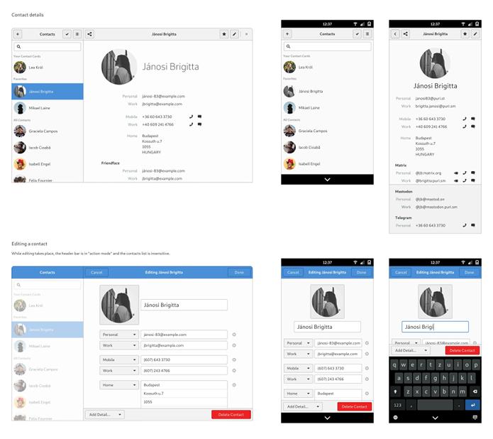 Smartphone Librem 5 usará uma interface baseada no Gnome