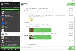 Como instalar o mensageiro seguro qTox no Linux via Flatpak
