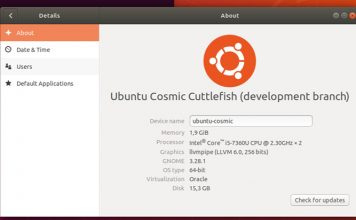 Confira as principais novidades do Ubuntu 18.10