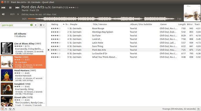 Como instalar o Player Quod Libet no Linux via Flatpak