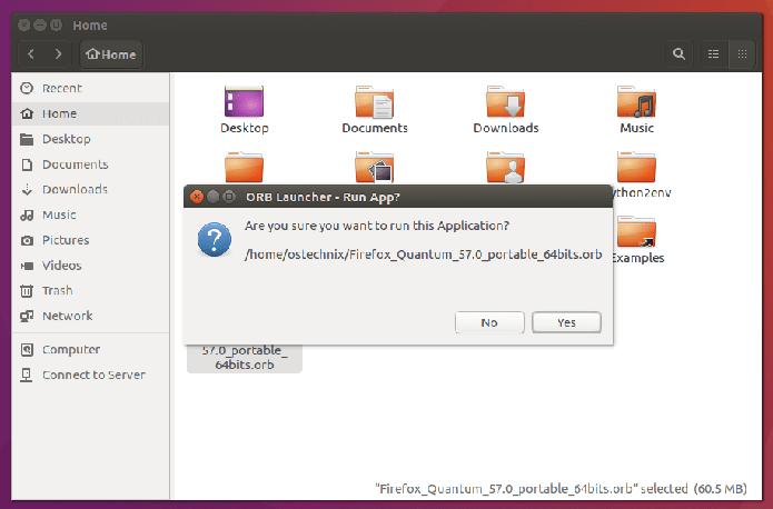 Como instalar o suporte a aplicativos ORB no Linux