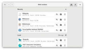 Como instalar o visualizador WebArchives no Linux via Flatpak