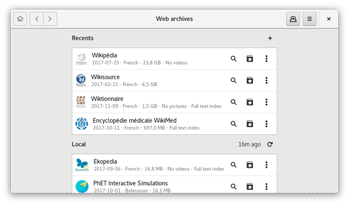 Como instalar o visualizador WebArchives no Linux via Flatpak