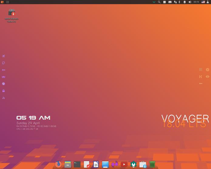 Voyager Linux 18.04 lançado - Confira as novidades e baixe