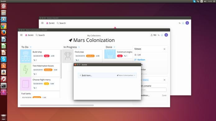 Instalar o gerenciador de projetos Zenkit no Linux via snap? Agora é possível!