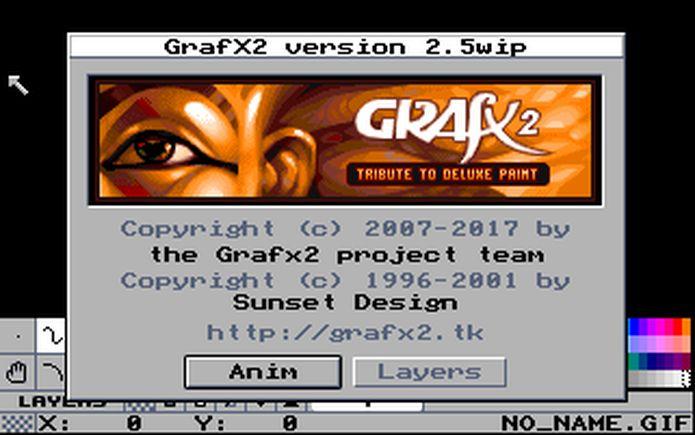 Como instalar o app de pintura bitmap GrafX2 no Linux via Flatpak
