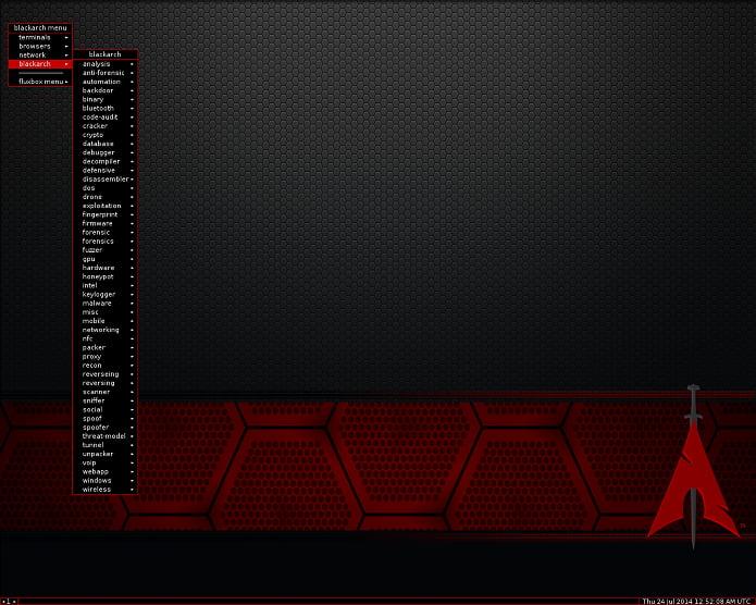 BlackArch Linux 2018.06.01 lançado - Confira e baixe