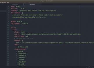 editor de codigo atom no linux via snap 324x235 - Notícias, dicas, tutoriais e informações sobre Linux
