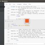 Como instalar o editor de código Brackets no Linux via Flatpak