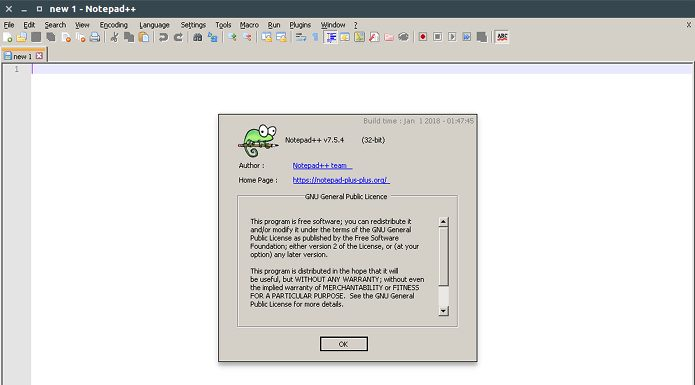 Como instalar o editor de código Notepad++ no Linux via Snap