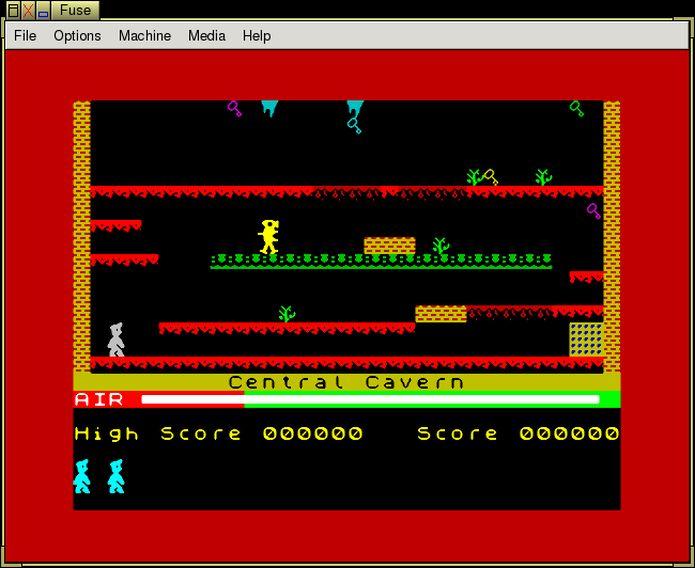 como instalar o emulador de Sinclair ZX Spectrum Fuse no Linux