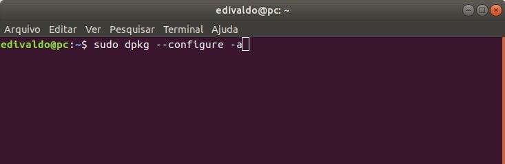 Corrigindo o erro dpkg: error: parsing file '/var/lib/dpkg/updates/0014