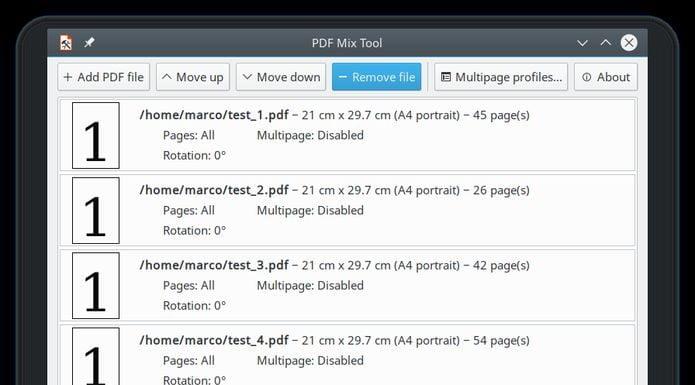 Como instalar a ferramenta PDF Mix Tool no Linux via Flatpak