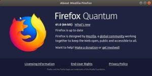 FireFox 61 lançado com melhorias adicionais de desempenho