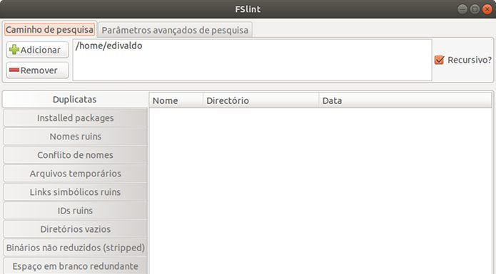 Remover arquivos duplicados no Linux- Como instalar e usar o FSlint