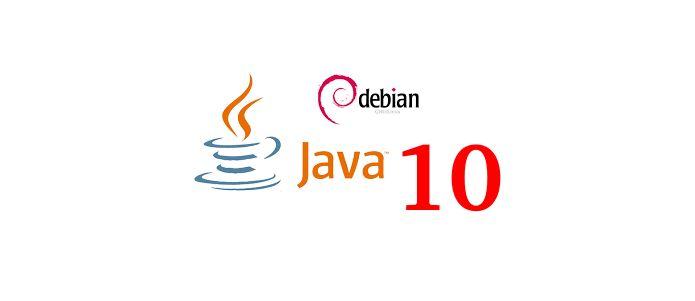 Como instalar o Java 10 no Debian 8 e 9 via repositório