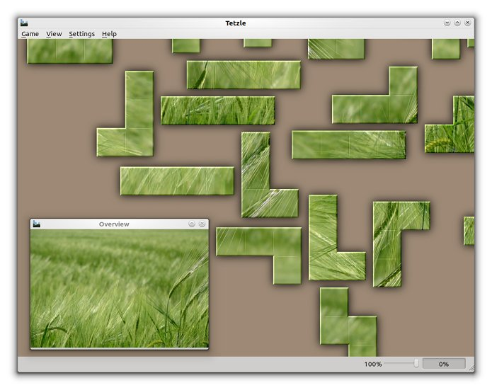 Como instalar o jogo de quebra-cabeças Tetzle no linux via Flatpak