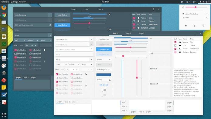Como instalar o tema Materia-Theme no Linux via Flatpak
