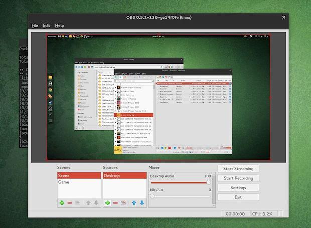 Como instalar o Open Broadcaster no Linux via Snap