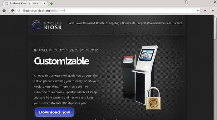 Porteus Kiosk 4.7 lançado com correções para Spectre